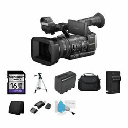 Sony Hxr-nx3/1 Nxcam Professional Handheld Camcorder 16gb Package