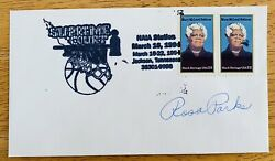 Rosa Parks Signed Autographed First Day Cover Beckett Bas Letter Civil Rights