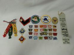 Assorted Lot Of Boy Cub Scout Activity Merit Badges And Pins 30 Badges 16 Pins