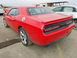 2015 2016 Dodge Challenger Rear Trunk Deck Lid Red With Spoiler 1107232