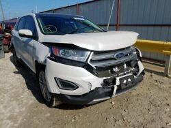 2015 2016 2017 2018 2019 Ford Edge Left Front Driver Door White Acoustic Glass