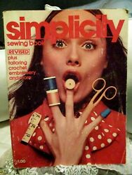 Vintage 1972 Simplicity Sewing Magazine/book Good Condition So Cool