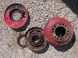 Ford Naa Tractor Original Right Brake Drive Assembly W/ Pads And Drum