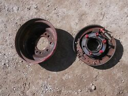 Ford Naa Tractor Original Left Brake Drive Assembly W/ Pads And Drum