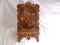 Antique Italian Sorrento Wood Marquetry Book Stand19th Century.