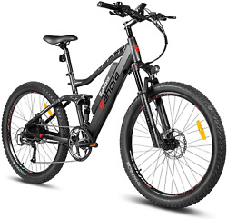 Eahora Am100 27.5 Inch 48v Mountain Electric Bicycle Dual Hydraulic Brakes Elect