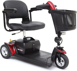 Pride Go-go Sport 3 Wheel Mobility Scooter - Motorized Electric Medical Carts Fo