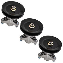 3 Pack Spindle Assembly For Cub Cadet 50 Deck 918-04125b 918-04125c
