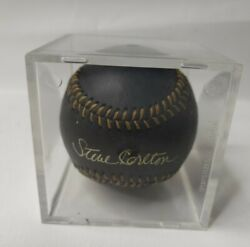 Rawlings Official Ball Gold Signature Series Signed By Steve Carlton