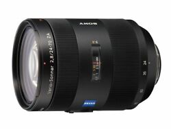 Sony 2470mm F/2.8 Carl Zeiss Vario Sonnar T Zoom Lens For Sony Alpha Digital Slr