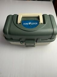 Sure Catch Fishing Tackle Box With Tackle + Knife