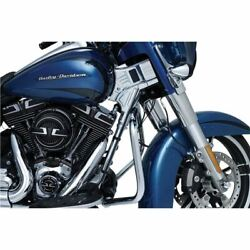 Kuryakyn Deluxe Neck Covers For 14-19 Harley Davidson Touring - 6955