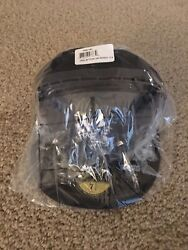 New Era New York Yankees Size 7 1/8 5950 Fitted Usa Flag On Side Sealed Nwt Ds