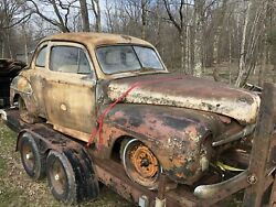 1947-48 Ford Coupe For Parts W/flathead Engine