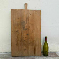 Antique Vintage French Bread Or Chopping Cutting Board Wood 2309205