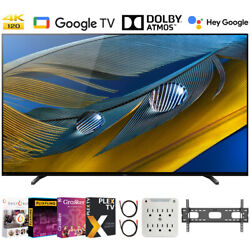 Sony Xr65a80j 65 A80j 4k Oled Smart Tv 2021 With Movies Streaming Pack