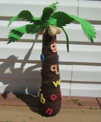 Chicka Chicka Boom Boom Book 22 Palm Tree Prop Educational Toy Lakeshope Plush
