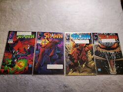 Spawn 1 - 4 Comic Lot In Near Mint Condition