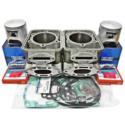 +.50mm Sea-doo 800 Carb Cylinders Pistons 1995-1999 82.50mm 6923212 6a5-f1