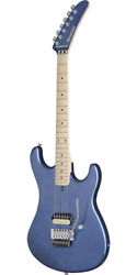 Kramer The 84 Blue Metallic Electric Guitar With Soft Case