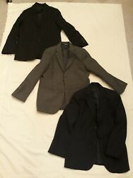 Lot Of 3 Boys Single Breasted Cherokee Suit Jackets