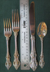 Towle El Grandee Sterling Silver Larger Sized Service For 8 32 Piecesandnbsp