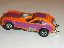 Aurora Afx Vintage Ford Pinto Funny Car Ho Slot On Non Mag Chassis Ex Condition