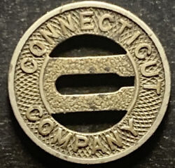 Connecticut Company Transit Token Good For One Fare Free Shipping Andbull3936