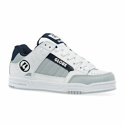 Globe Tilt Homme Chaussures Chaussure - White Grey Navy Toutes Tailles