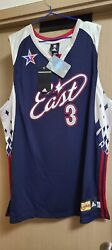 Adidas Nba Dwyane Wade All Star East 2007 Miami Heat Climacool Authentic Jersey