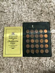 The Franklin Mint Collection Of Antique Car Coins Series 2 W/ Booklet