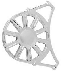Arlen Ness P-1165 10-gauge Front Pulley Cover - Chrome