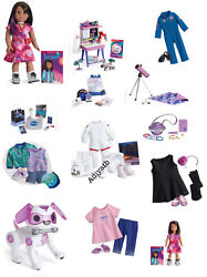 American Girl Luciana Doll And Collection Lot Nrfb