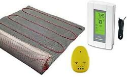 220 Sqft Mat, 240 Volt, Electric Radiant Floor Heat Heating System With Aube Dig