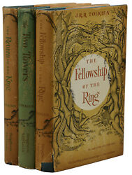 The Lord Of The Rings Trilogy Jrr Tolkien First Us Edition Set 16,12,11 1st
