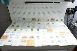 Large Lot Of Vintage Nos / New 77 Guitar Strings Acoustic And Electric - Martin Co