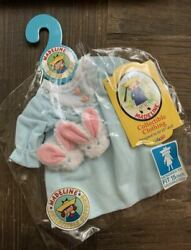 Madeline Collectible Clothing Nightgown And Slippers Set Fits 15 Doll, Nwt