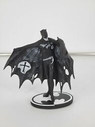 BATMAN BLACK AND WHITE STATUE FIGURE BY GERARD WAY DC COLLECTIBLES