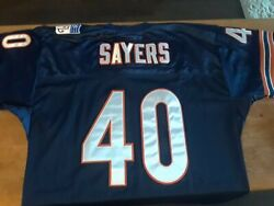 New Gale Sayers Mitchell And Ness Chicago Bears Throwback Jersey Size 48 Nwt