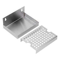 Wall-mount Beer Drip Tray Stainless Steel Drip Tray Home-brew Kegging Draft Beer