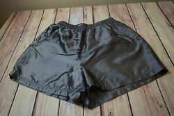 Actra Womenand039s Silver Workout Shorts Size Xl