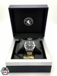 Grand Seiko Quartz Watch 9f82-0af0 Black Silver Stainless Menand039s Watch [b0504]
