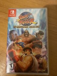 Street Fighter 30th Anniversary Collection Nintendo Switch 2018 Brand New
