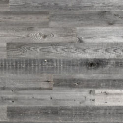 Gray Reclaimed Barnwood Planks For Wood Accent Wall Headboard 47 Length 20 Sq.ft