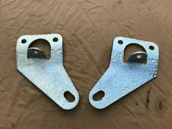 1965 - 1970 Mustang Shelby Boss Dual Tie Down Brackets Original Pitted Plated