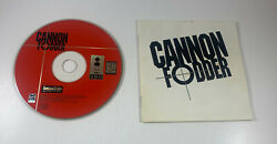 Discand Manual-only Cannon Fodder Panasonic 3do Video Game Sensible Software