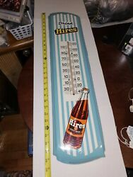 Drink Hires Root Beer Thermometer Wall Sign