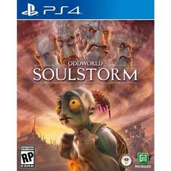 Oddworld Soulstorm Day One Oddition Playstation 4 Ps4 Pre Order Ships 7.6