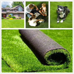 Fas Home Artificial Grass Turf 13ftx36ft468square Ft 1.38 Pile Height Realis