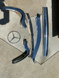 Mercedes Benz 190 Sl Bumpers And Grill Pieces